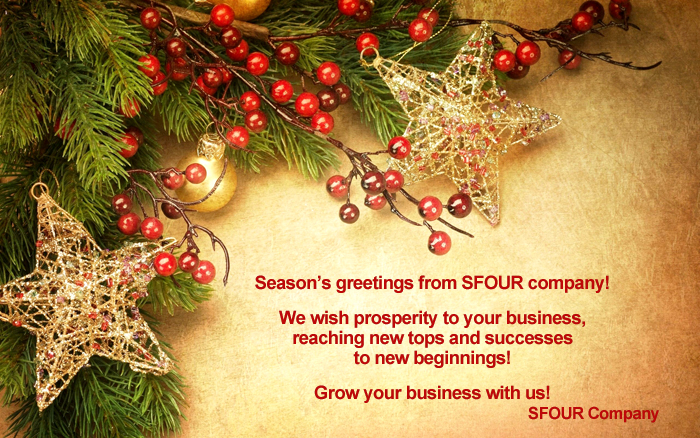 Company SFOUR wishes our clients and partners a Happy New ...